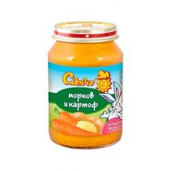 "Слънчо Бебешко пюре ""Морков и картоф"""