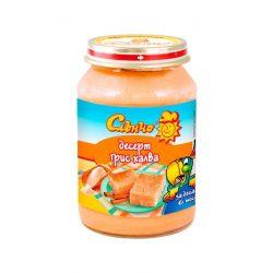 """Слънчо Бебешки десерт """"Грис халва"""""""
