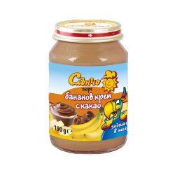 "Слънчо Бебешки десерт ""Бананов крем с какао"""