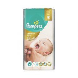 PAMPERS PREMIUM CARE 2 (3-6кг.) 50 броя