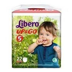 LIBERO UP&GO 5 ГАЩИ (10-14 КГ) 22 БР