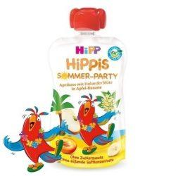 HIPP Био Плодова закуска ябълка,банан и кайсия