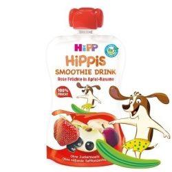 HIPP Био Смути Червени плодове, ябълка-банан