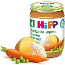 HIPP БИО Различни зеленчуци 190 гр.