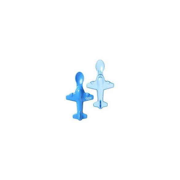Tommee Tippee Лъжици самолет, син цвят, ( 2бр./оп.)4м+