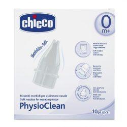 Меки накрайници за физиологичен аспиратор за нос Chicco