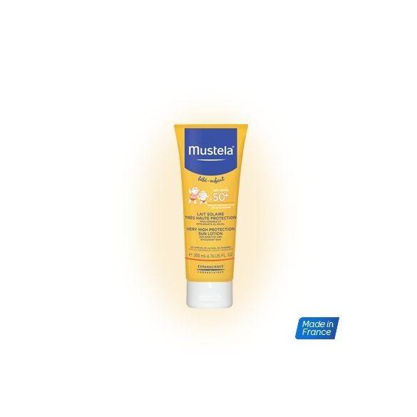 Mustela Слънцезащитен лосион с много висока защита 200 ml