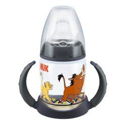 NUK FC РР шише 150мл с накрайник силиконов за сок . LION KING
