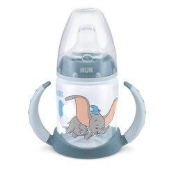 NUK  Шише 150мл с накрайник силикон за сок First Choice - Син