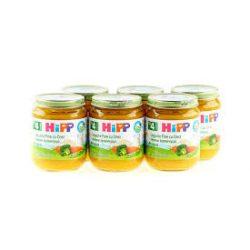 HIPP БИО Различни зеленчуци 6 бр. 125гр