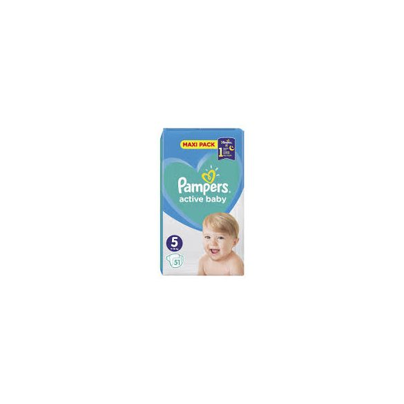Pampers Active Baby Пелени 5 / 11-16кг/ 50бр.VPP