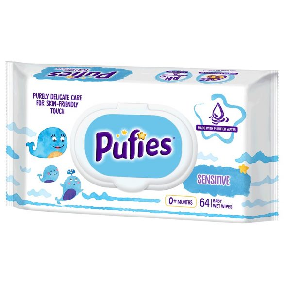 Мокри кърпи Pufies Sensitive 64бр.