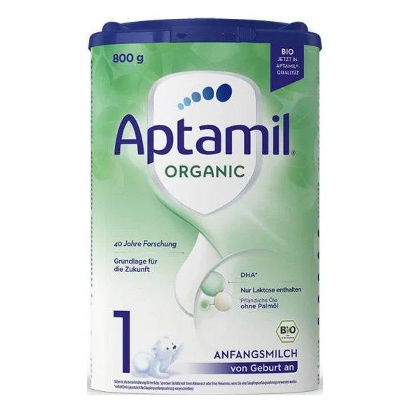 Aptamil Organic 1 Био мляко  0 - 6-м  / 800 гр.