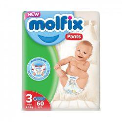 Molfix / Молфикс гащи 3 (4-9кг) 60бр.