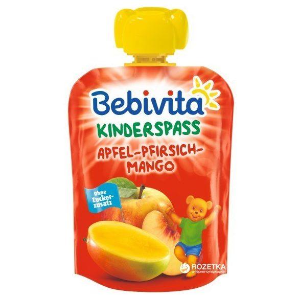 Bebivita - Забавна плодова закуска с ябълка, манго и праскова
