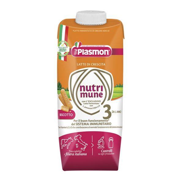 PLASMON Nutri - mune 3 Готово мляко с бишкота 1+г. 500 мл