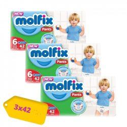 Molfix / Молфикс гащи 6 (15+кг) 126 бр