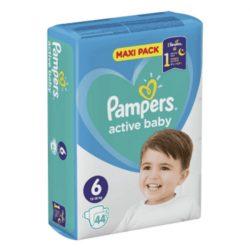 Pampers Active Baby Пелени 6 / 13-18кг/ 44бр.VPP