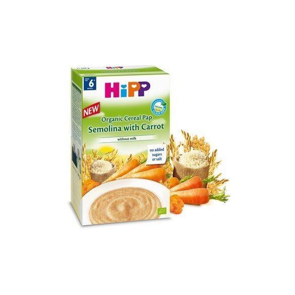 HiPP Био каша грис с моркови