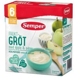 Семпер / Semper  Плодова каша с ябълки и круши с бифидус ефект (480 г) - 6 месеца