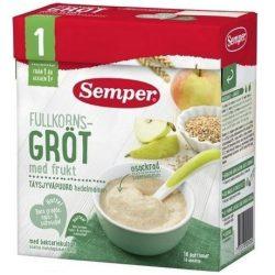 Семпер / Semper  Пълнозърнеста каша с ябълки и круши с бифидус ефект (530 г 1 година)