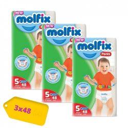 Molfix / Молфикс гащи 5 (12-17кг) 144 бр
