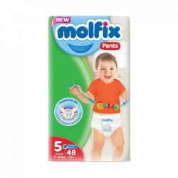 Molfix / Молфикс гащи 5 (12-17кг) 48бр