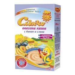СЛЪНЧО Овесена каша с банан и слива