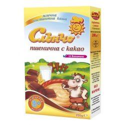 СЛЪНЧО Пшенично млечна каша с какао
