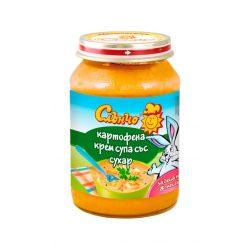 """Слънчо Бебешко пюре """"Картофена крем супа със сухари"""""""