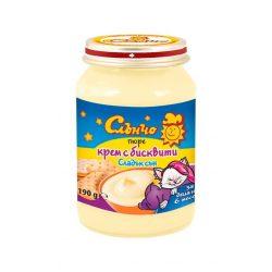 "Слънчо Бебешки десерт ""Крем с бисквити"""