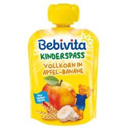 Bebivitа Пълнозърнести култури с Ябълка и банан 90г