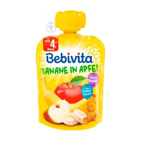 Bebivita  Ябълка с банан, 90g