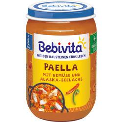 Bebivita Паеля , зеленчуци сьомга от 8-ия месец 220гр