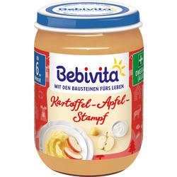 Bebivita Страхотни  картофени палачинки с ябълково пюре от 6-ия месец 190гр