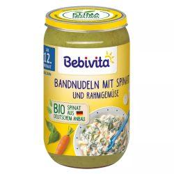 Bebivita Макарони спанак зеленчуци в сметана