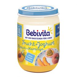 Bebivita Йогурт с плодове - праскова и маракуя