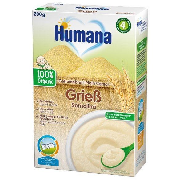 Humana БИО Безмлечна каша с грис
