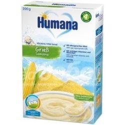 Humana Mлечна каша с царевечен грис