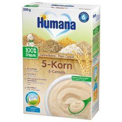 Humana БИО Безмлечна каша 5 зърна