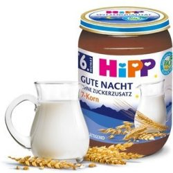 "HIPP  Био млечна каша ""Лека нощ"" 7 зърна"