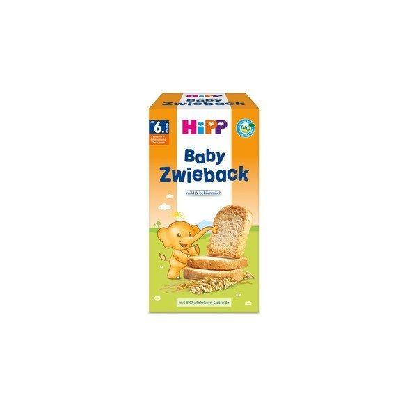 HiPP Био бебешки сухари
