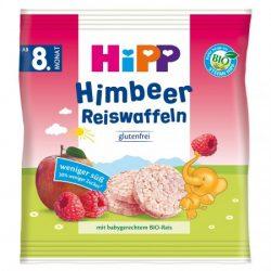 HiPP Малинови оризови вафли (30 г) 8м