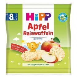 HiPP Bio Оризови бисквити с ябълка (30 г) 8м