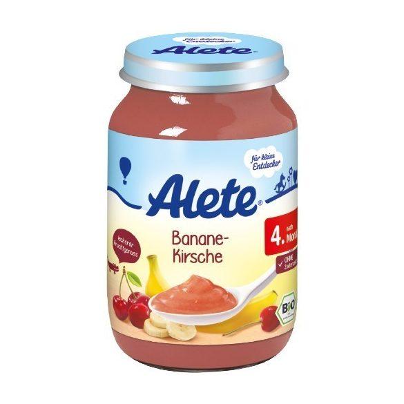 Nestlé Alete БИО Банан и череша