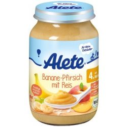 Nestlé Alete БИО Банан и праскова с ориз