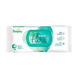 Pampers Aqua Pure  мокри кърпи с органичен памук 48 броя