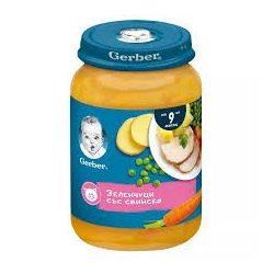 Gerber - Пюре от зеленчуци със свинско месо