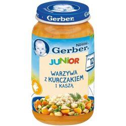 GERBER  Junior Пюре Фрикасе с пилешко