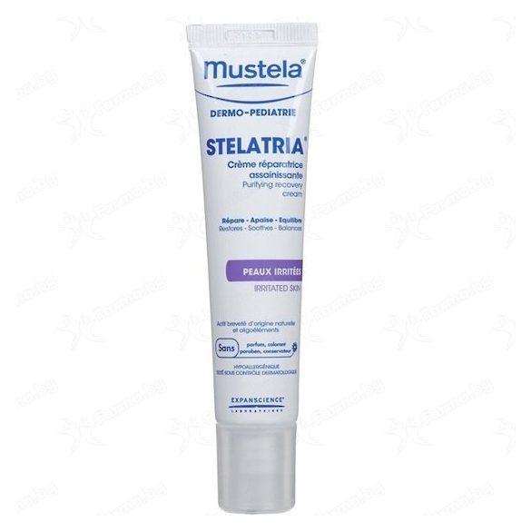 Mustela Почистващ, възстановяващ крем STELATRIA